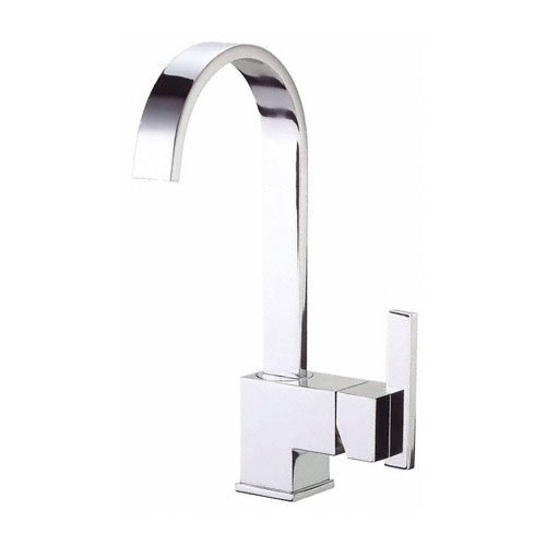 Danze Sirius Chrome Fixed Spout Single Handle Bar Faucet