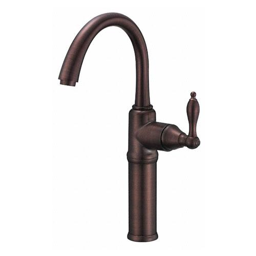 Danze Fairmont Oil Rubbed Bronze Single Handle Vessel Sink Faucet w/ Grid Drain