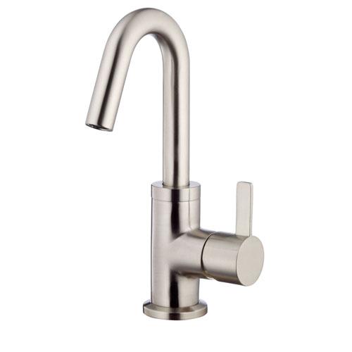 Danze Amalfi Brushed Nickel Single Handle Bathroom Centerset Faucet w/Drain