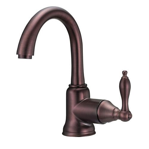 Danze Fairmont Oil Rubbed Bronze 1 Side Mount Handle Bathroom Centerset Faucet