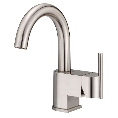 Danze Como Brushed Nickel 1 Handle Centerset Bathroom Faucet with Touch Drain