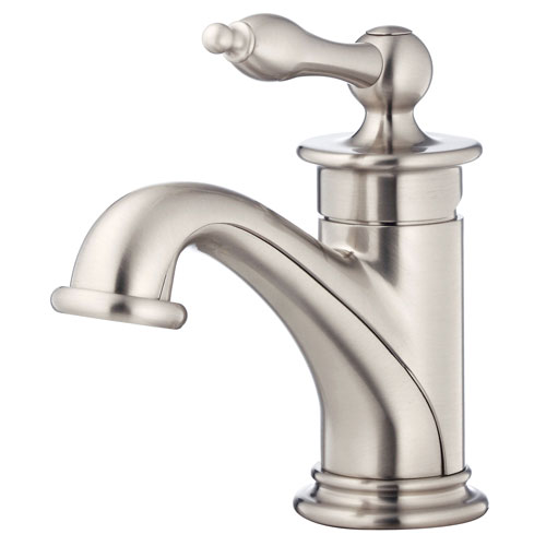 Danze Prince Brushed Nickel Single Hole 1 Handle Bathroom Faucet w Touch Drain