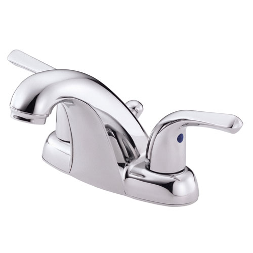 Danze Melrose Chrome 2 handle Center Set Bathroom Sink Faucet with Pop-up Drain