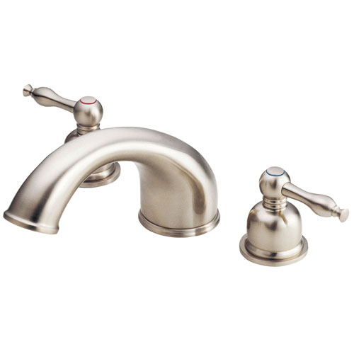 Danze Sheridan Brushed Nickel 2 Handle Widespread Roman Tub Filler Faucet INCLUDES Rough-in Valve