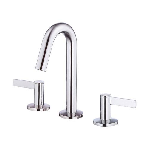 Danze Amalfi Chrome Trimline Slim Handle Hi Arch Widespread Bathroom Faucet