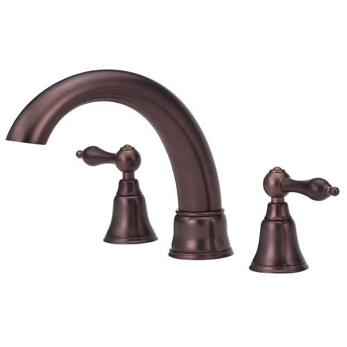 Danze Fairmont Oil Rubbed Bronze Widespread Roman Tub Filler Faucet INCLUDES Rough-in Valve