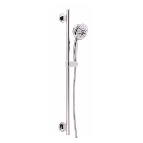 Danze Versa Chrome Best Handheld Shower Head with Slide Bar Kit