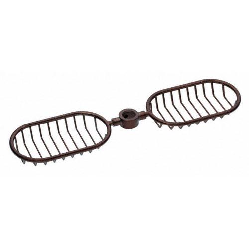 Danze Oil Rubbed Bronze Handheld Shower Head Slidebar Mount Wire Basket Shelves