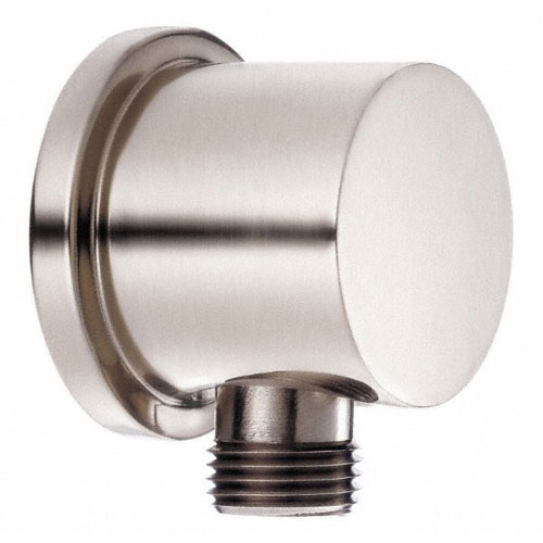 danze brushed nickel handheld shower head wall mount supply elbow hose connector
