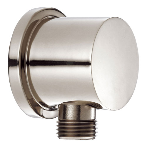 Danze Polished Nickel Handheld Shower Head Wallmount Supply Elbow Hose Connector