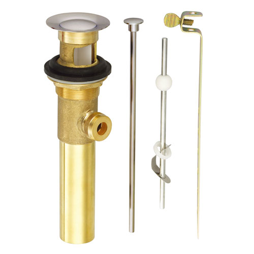 Danze Brushed Nickel Finish Solid Brass Pop Up Drain Assembly