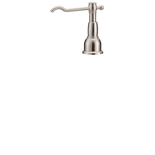 Danze Opulence Stainless Steel Finish Deck Mount Soap & Lotion Dispenser