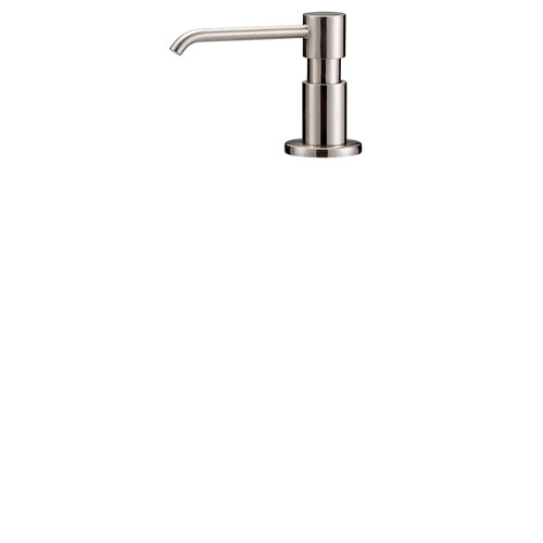 Danze Parma Modern Stainless Steel Finish Deck Mount Soap & Lotion Dispenser