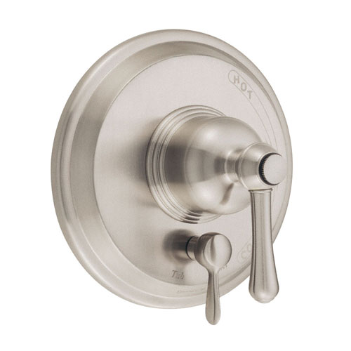 Danze Opulence Brushed Nickel Pressure Balance Shower Control with Diverter INCLUDES Rough-in Valve
