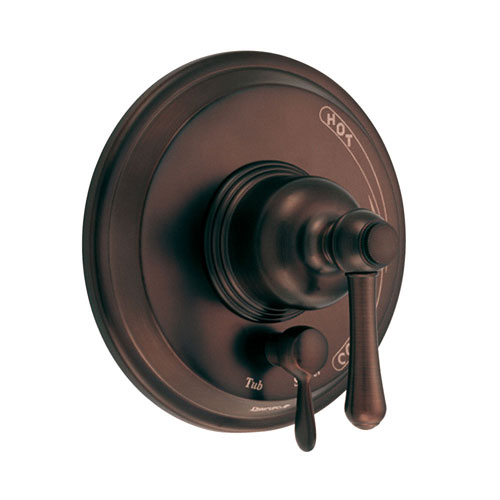 Danze Opulence Rubbed Bronze Pressure Balance Shower Control with Diverter INCLUDES Rough-in Valve