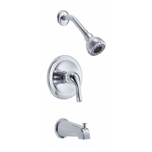 Danze Melrose Chrome Single Handle Tub and Shower Combination Faucet INCLUDES Rough-in Valve