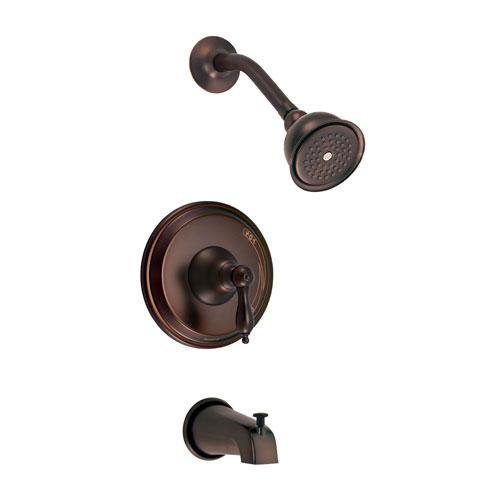 Danze Fairmont Oil Rubbed Bronze Single Lever Handle Tub & Shower Combo Faucet INCLUDES Rough-in Valve