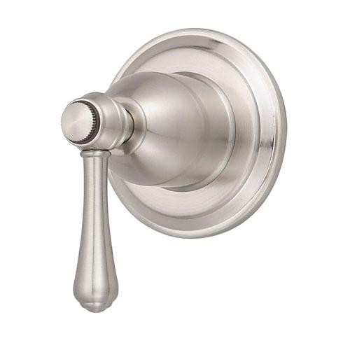 Danze Opulence Brushed Nickel 1 Handle Volume Control 4-Port Shower Diverter INCLUDES Rough-in Valve