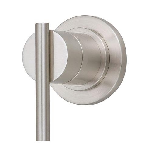 Danze Parma Brushed Nickel 1 Handle Volume Control 4-Port Shower Diverter INCLUDES Rough-in Valve