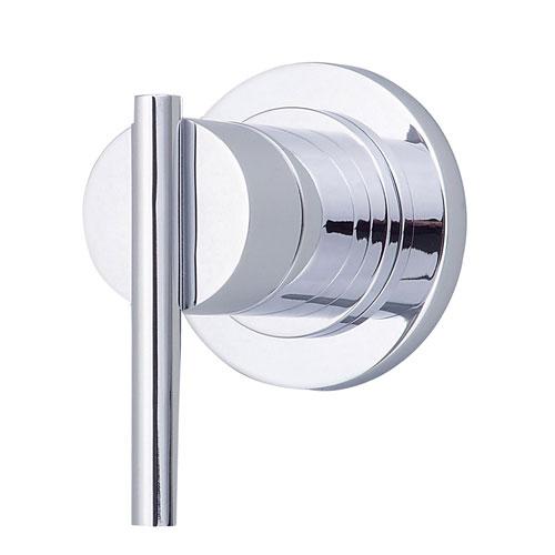Danze Parma Chrome Single Handle Volume Control 4-Port Shower Diverter INCLUDES Rough-in Valve