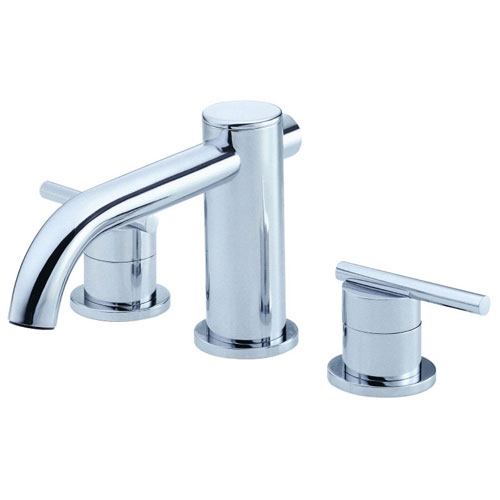 Danze Parma 2-Handle Roman Tub without Personal Spray Trim Only in Chrome (Valve Not Included) 287601