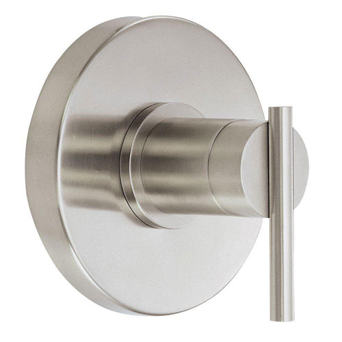 Danze Parma 1-Handle Valve Trim Kit in Brushed Nickel (Valve Not Included) 471628