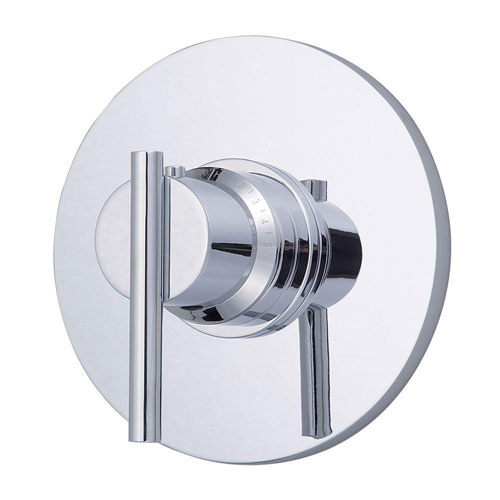Danze Parma 3/4 inch Thermostatic Shower Trim Only in Chrome (Valve Not Included) 472707