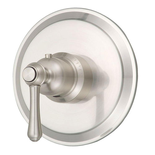 Danze Opulence 3/4 inch Thermostatic Shower Valve Trim Only in Brushed Nickel 472714