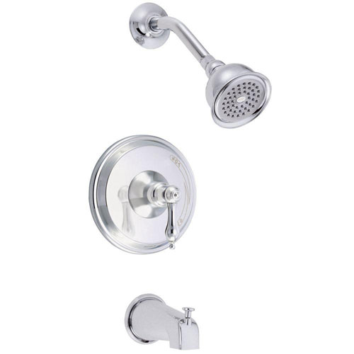 Danze Fairmont 1-Handle Tub and Shower Faucet Trim Only in Chrome (Valve Not Included) 485070