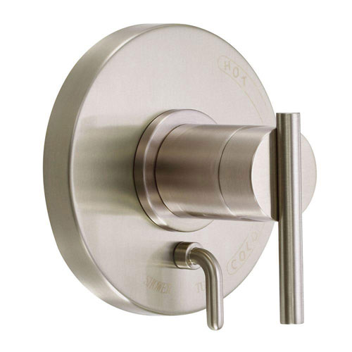 Danze Parma Single Trim Kit For Valve Only with Diverter in Brushed Nickel (Valve Sold Separately) 551475