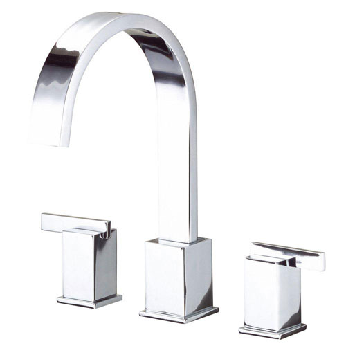 Danze Sirius Trim Only for 2-Handle Roman Tub Faucet in Chrome 553730