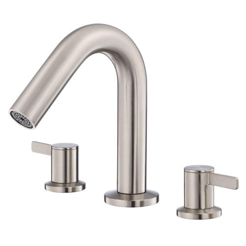 Danze Amalfi 2-Handle Roman Tub Faucet in Brushed Nickel Trim Only 554867