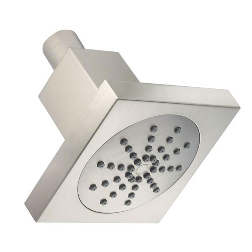Danze 1-Spray 4 inch Square Showerhead in Brushed Nickel 623035