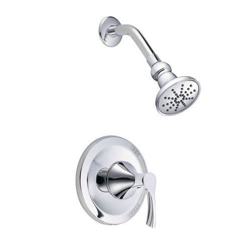 Danze Antioch 1-Handle Shower Faucet Trim Kit in Chrome (Valve Not Included) 634464