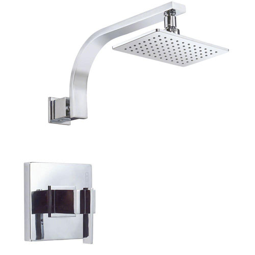 Danze Sirius 1-Handle Pressure Balance Shower Faucet Trim Kit in Chrome (Valve Not Included) 634488