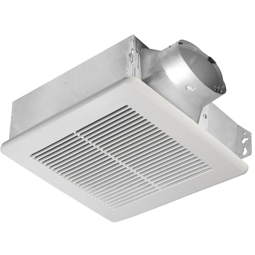Delta breez slim 100 cfm ceiling or wall mount bathroom ventilation exhaust fan ebay for Residential exhaust fans for bathrooms
