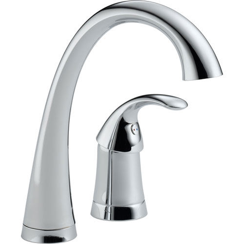 Delta Pilar Single Handle Bar / Prep Sink Faucet in Chrome 474532