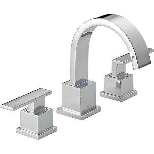 Delta Vero 8 in. Widespread 2-Handle High Arc Bathroom Faucet in Chrome 521802