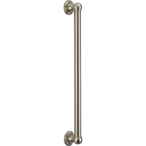 Delta ADA 24 inch Wall Grab Bar in Stainless Steel Finish 561082