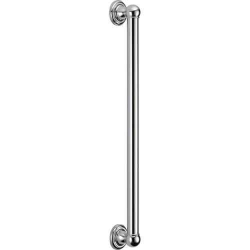 Delta ADA Compliant 24 inch Wall Mounted Grab Bar in Chrome 561079