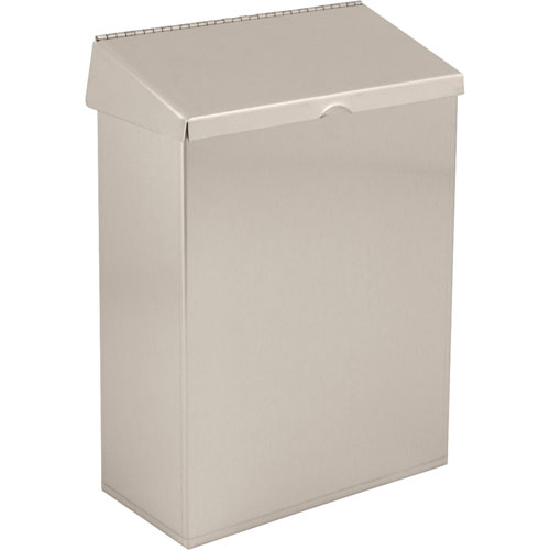 Delta Sanitary Napkin Receptacle Waste Bin in Stainless Finish 572969