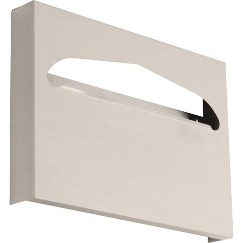 Delta Toilet Seat Cover Cabinet in Satin Stainless Steel Finish 572970