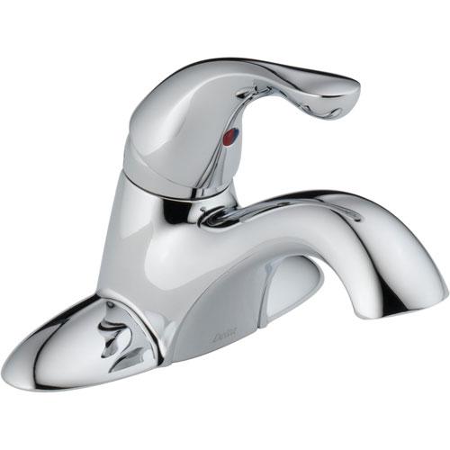 Delta Classic Centerset Single Handle Mid Arc Chrome Bathroom Sink Faucet 474296