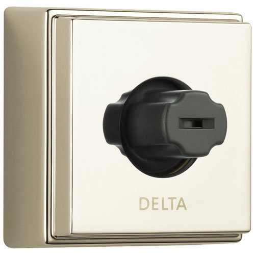 Delta Polished Nickel Finish Wall Mounted Body Jet Spray with H2Okinetic Technology D50101PN