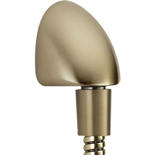 Delta Traditional 1/2 in. Wall Elbow in Champagne Bronze for Handshower 525058
