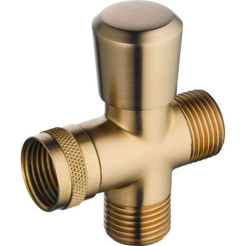 Delta Traditional Champagne Bronze 3-Way Handshower Shower Diverter 560964