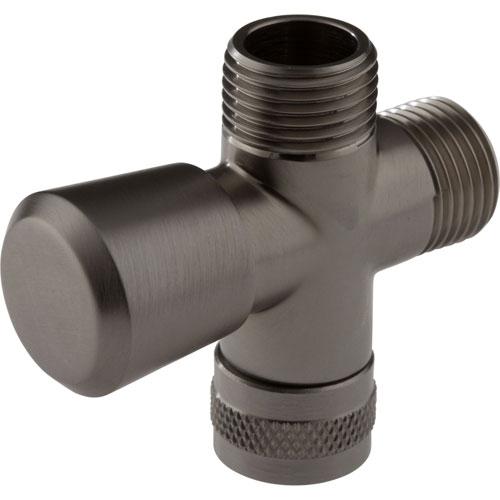 Delta Traditional Stainless Steel Finish 3-Way Handshower Shower Diverter 708069