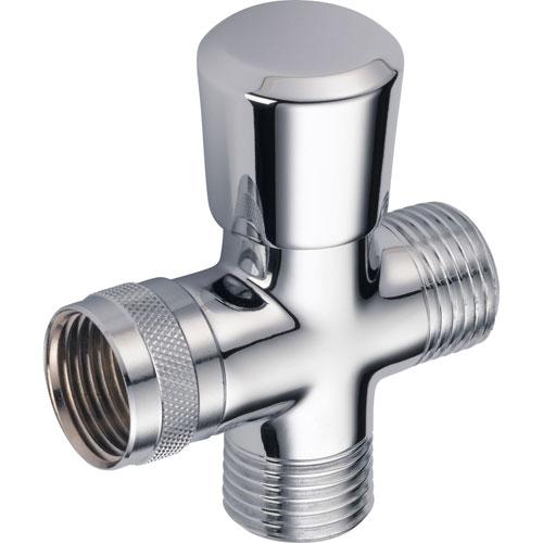 Delta Traditional Hand-Shower Shower Arm Diverter in Chrome 708017
