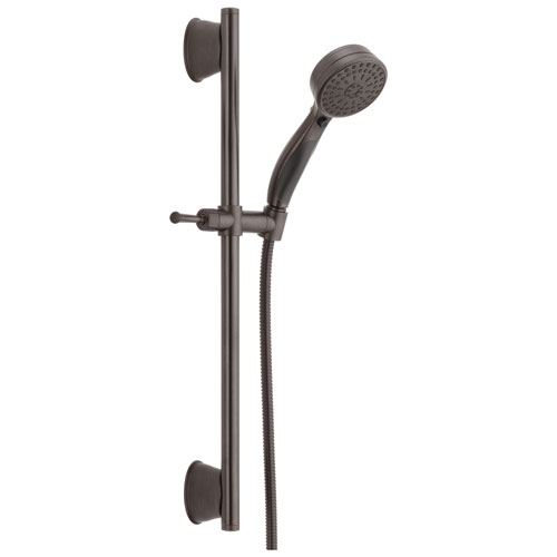 Delta Universal Showering Components Collection Venetian Bronze Finish ActivTouch Hand Held Shower with Slidebar and Hose D51549RB