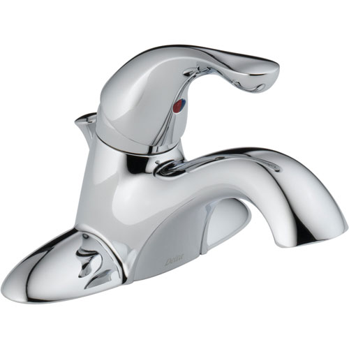 Delta Classic 4 in. Centerset Single Handle Lavatory Faucet in Chrome 474305